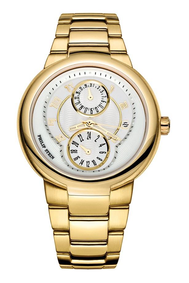 """Watch, $750, Philip Stein, <a href=""""http://www.philipstein.com"""">philipstein.com</a>"""