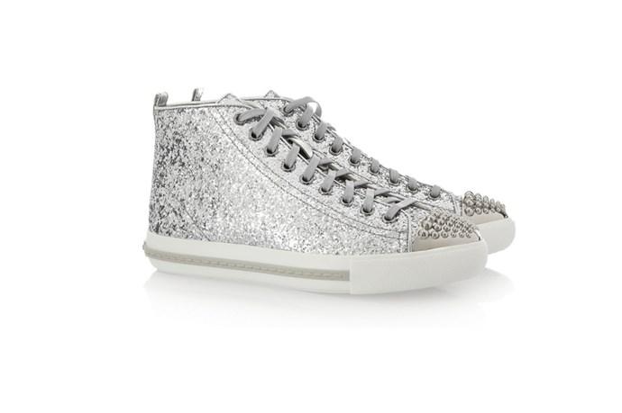 Sneakers, $520, Miu Miu, (02) 9223 1688