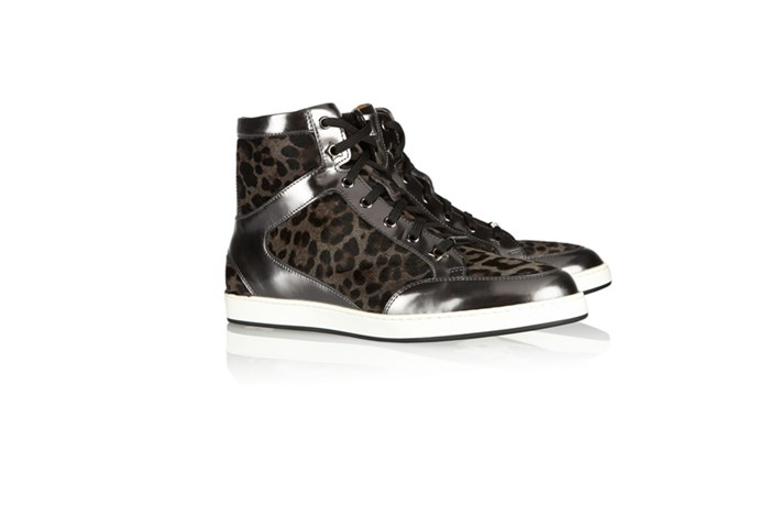 "Sneakers, $696, Jimmy Choo,<a href=""http://www.net-a-porter.com""> net-a-porter.com</a>"