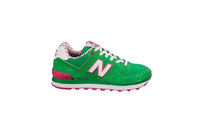 "Sneakers, $119, New Balance, <a href=""http://www.hypedc.com"">hypedc.com</a>"