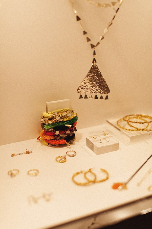 Lucy Folk 'Pizza' collection launch party.