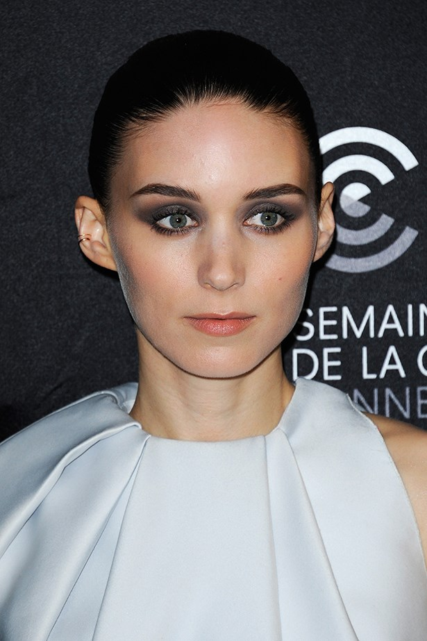 Smoulderingly sexy with a smoky eye in Cannes in May.