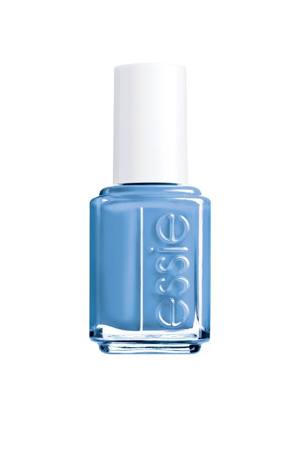 "Nail Colour in Lapis of Luxury, $18, Essie, <a href=""http://www.essie.com"">essie.com</a>"