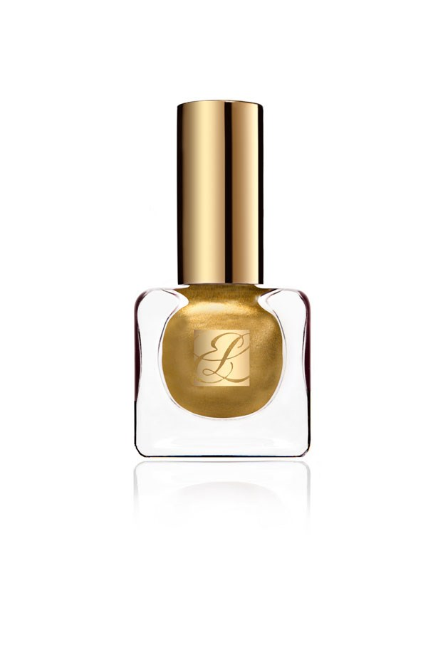 Pure Color Vivid Shine Nail Lacquer in Brushed Gold, $45, Estée Lauder, 1800 061 326 <p> Available September 15. </p>