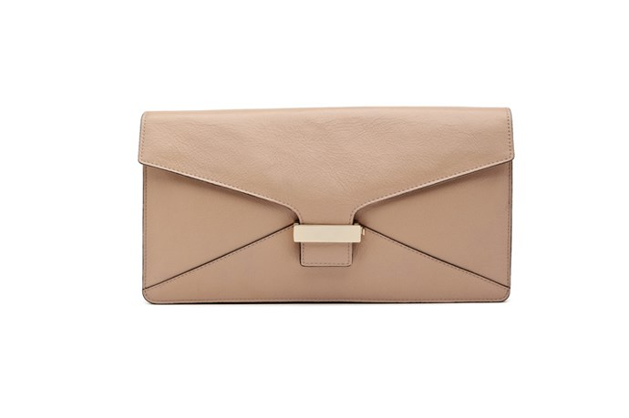 "Clutch, $99, Witchery,<a href=""http://witchery.com.au""> witchery.com.au</a>"