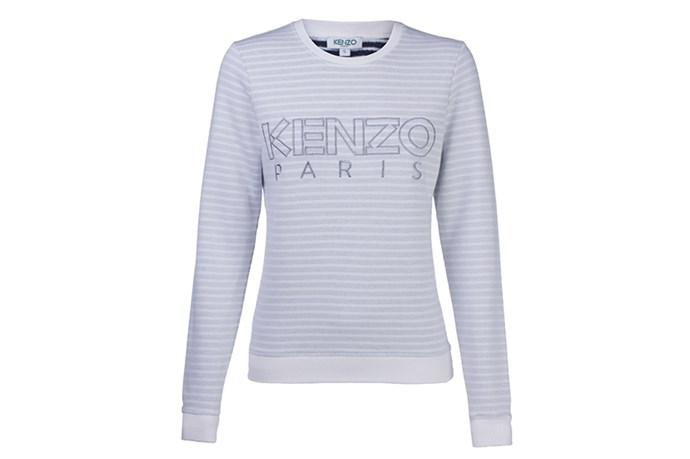 Sweatshirt, $260, Kenzo, anotherlove.com.au