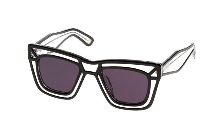 Sunglasses, $289, Ksubi, ksubi.com