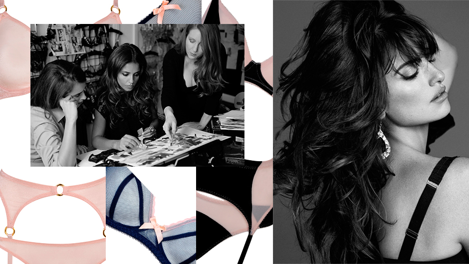 Penelope Cruz gets intimate with Agent Provocateur
