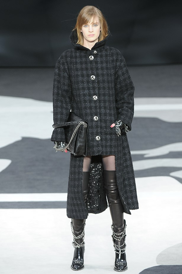 <strong>Thou shalt add a punky twist.</strong><p> Chain-adorned boots and accessories gave a cool spin at Chanel and will do the same for your wardrobe. </p>