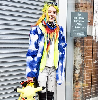 Rainbow warrior Chloe Norgaard