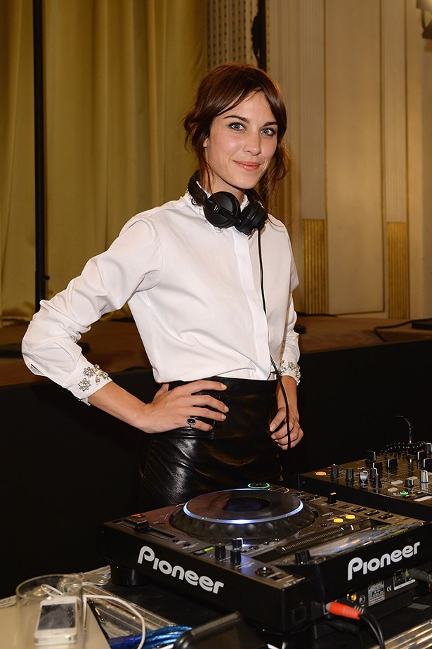 Alexa Chung at Bulgari Party