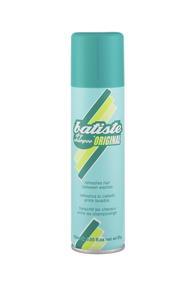 "<strong>Dry shampoo</strong> <p>On the topic of hair, skip the shower and suds option and reach for a dry shampoo for a super fast-fix hair ""wash"". Simply spray, massage in and brush out. Voila!</p> <p>Dry Shampoo, $9.95, by Batiste, <a href=""http://www.batistehair.com.au"">batistehair.com.au </a></p>"