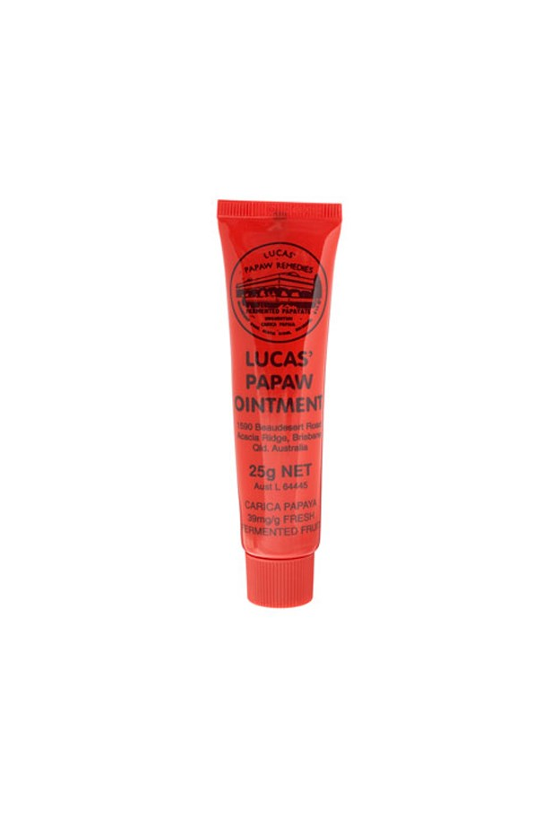 "<strong>Lip balm</strong> <p>There's nothing more distracting in life than cracked lips! Keep your focus on the exercise ahead and make sure your pout's well moisturised.</p> <p>Lucas' Papaw Ointment, $5.99, by Lucas' Papaw Remedies, <a href=""http://www.priceline.com.au"">priceline.com.au</a></p>"