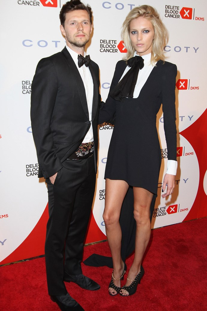 <strong>Anja Rubik and Sasha Knezevic</strong> <p>That these two have never cut each other open with their cheekbones is a minor miracle. That they're publishing a sex magazine that all of us can read is a public service. </p>