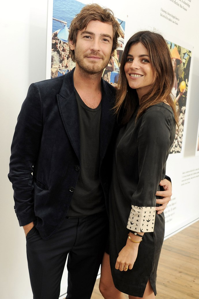 """<strong>Julia Restoin Roitfeld and Robert Konjic</strong> <p>Speaking of royal families, you can't get much more impressive than the Roitfelds, and smouldering Konjic seems like a good addition to the family. Apparently before they even got together, mama Carine referred to him as """"my little Robert"""". </p>"""