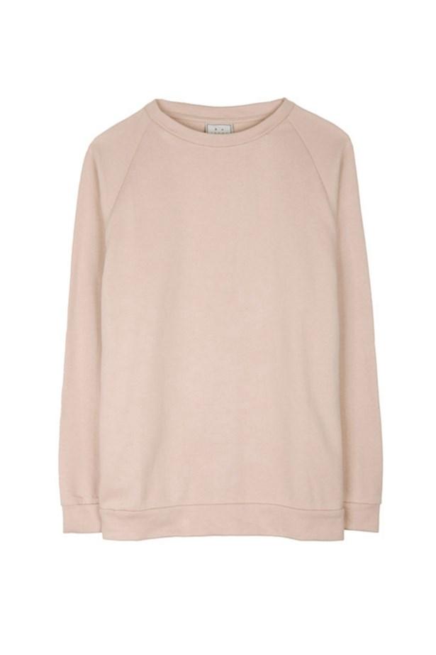 "Cotton sweatshirt, $99, Base Range, <a href=""http://www.mychameleon.com.au"">mychameleon.com.au</a>"