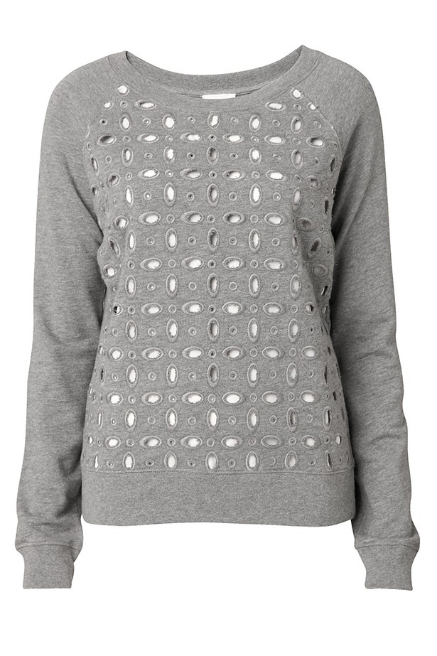 "Cotton sweatshirt, $79.95, Witchery, <a href=""http://www.witchery.com.au"">witchery.com.au</a>"