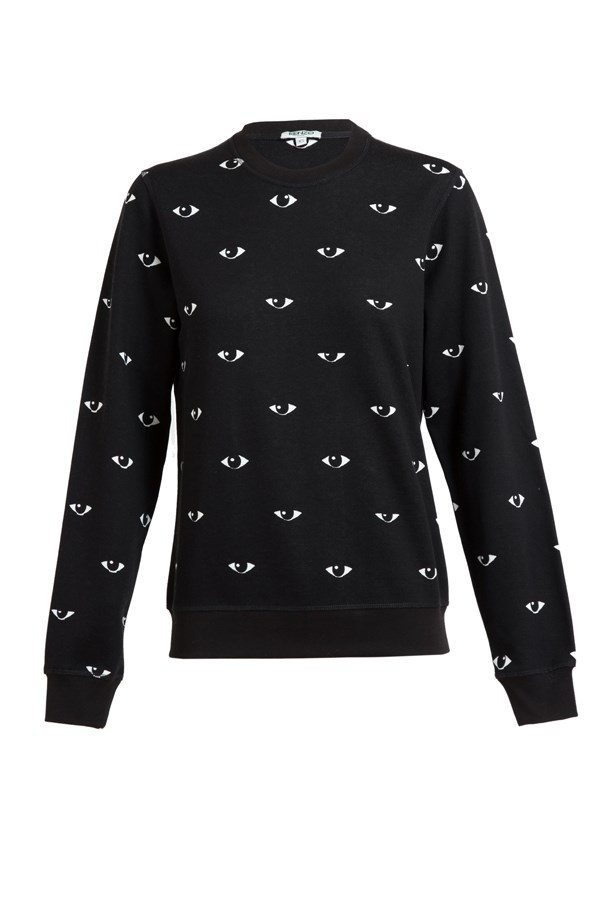"Cotton sweatshirt, approx. $348, Kenzo, <a href=""http://www.brownsfashion.com"">brownsfashion.com</a>"