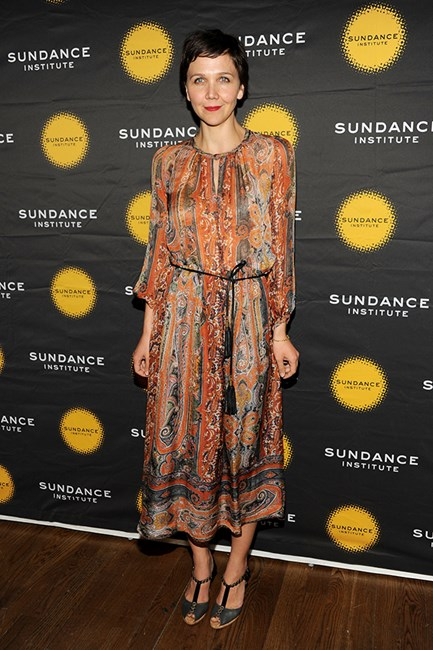 Maggie Gyllenhaal, the prettiest paisley pixie of them all.