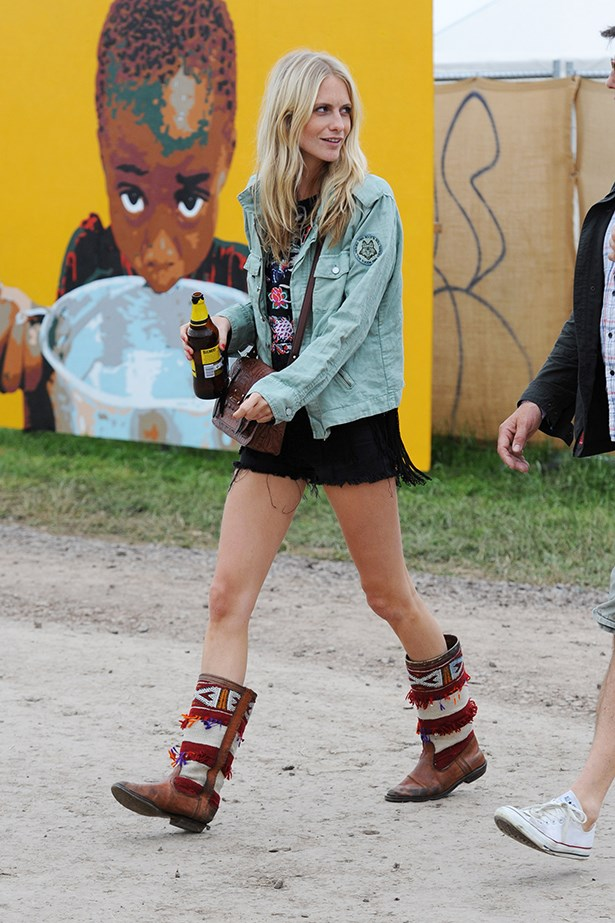 Poppy Delevigne's boots were made for walking – up Mount Kilimanjaro, that is.