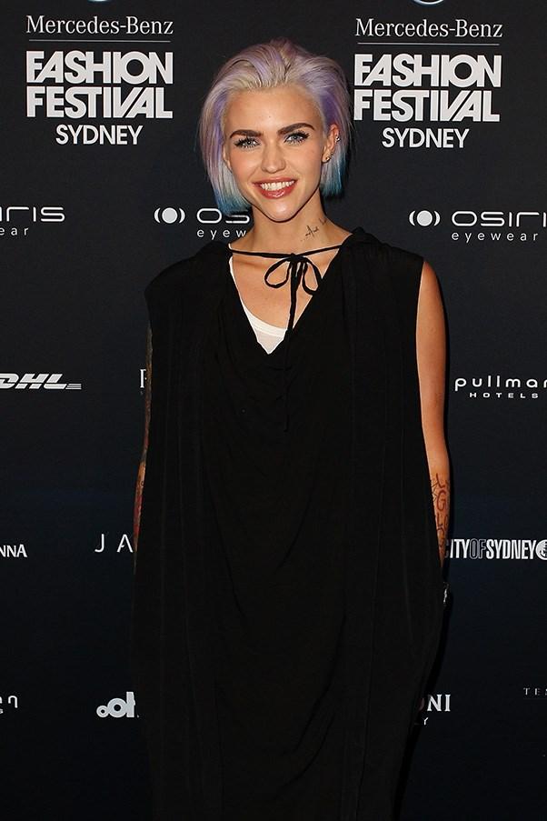 Ruby Rose at Mercedes Benz Fashion Festival Sydney