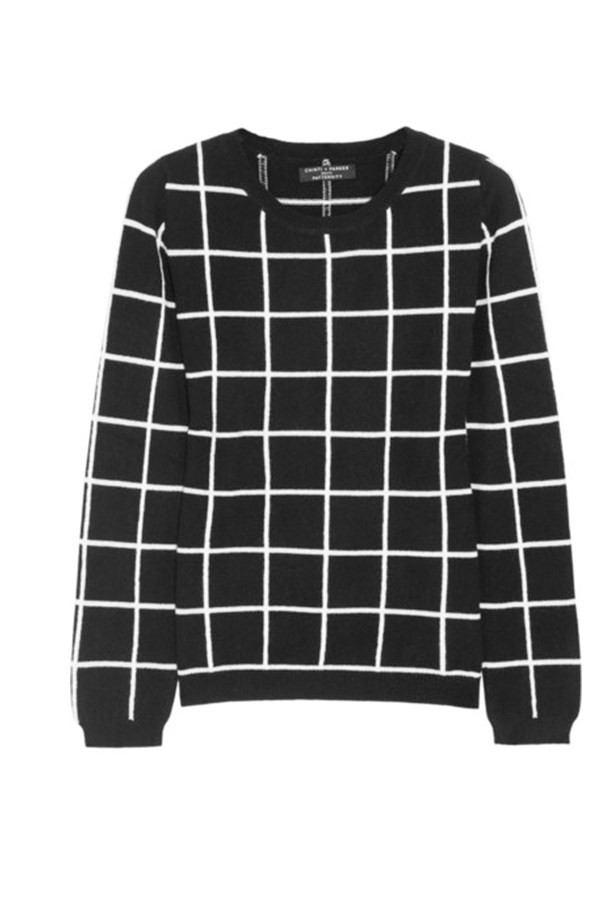 Sweater, approx $607, Chinti and Parker, net-a-porter.com