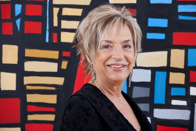 Rosalia Mera co-founder of Zara