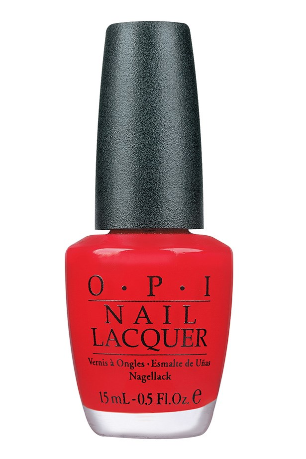 """<p><strong>Janna Johnson O'Toole, beauty and fitness director</strong></p> <p>""""It's a classic red – not too orange, not too pink. It's the perfect pedicure colour all year round.""""</p> <p><em>Nail polish in Big Apple Red, $19.95, OPI, <a href=""""http://www.opi.net.au"""">opi.net.au</a></em></p>"""