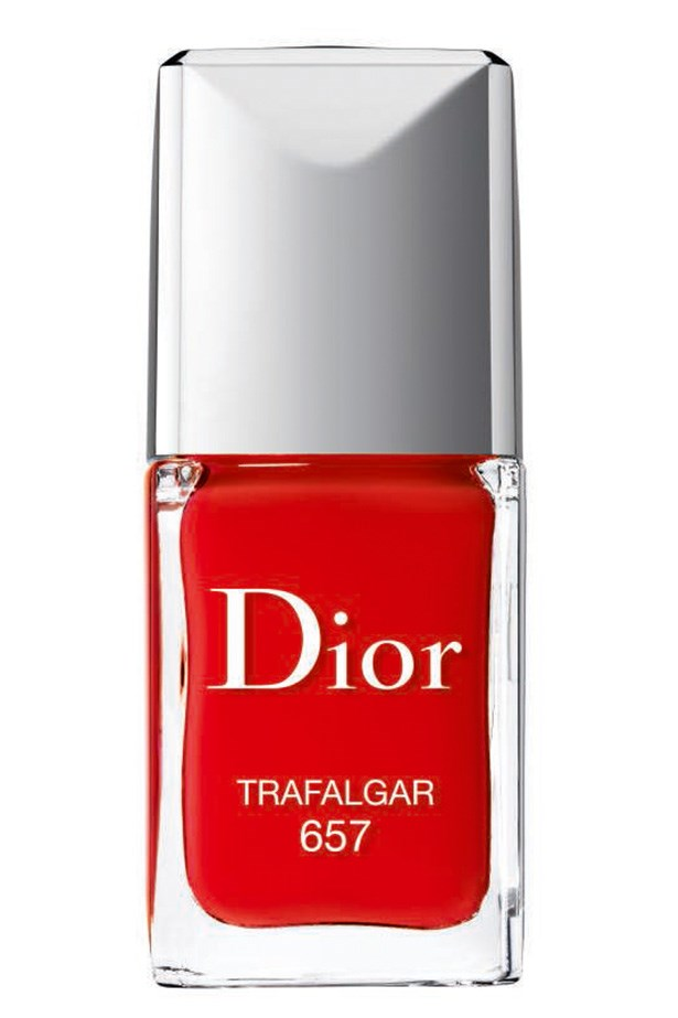 """<p><strong>Carly Townsend, art director</strong></p> <p>""""The formula is lovely and sheer – so you can apply one coat for one effect, or layer it up for something opaque.""""</p> <p><em>Dior Rouge Vernis in Trafalgar, $39, Dior, (02) 9695 4800</em></p>"""