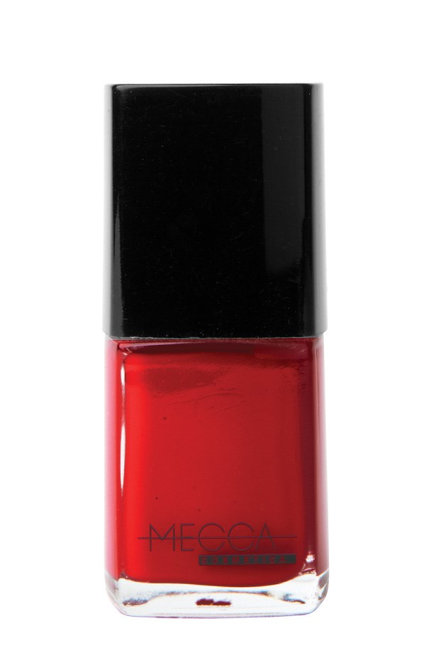 """<p><strong>Natalie Reeves, deputy chief sub-editor</strong></p> <p>""""I've worn this one all winter – it's perfect paired with a striped tee and denim!""""</p> <p><em>Nail polish in Ophelia, $22, Mecca Cosmetica, <a href=""""http://www.meccacosmetica.com.au"""">meccacosmetica.com.au</a></em></p>"""
