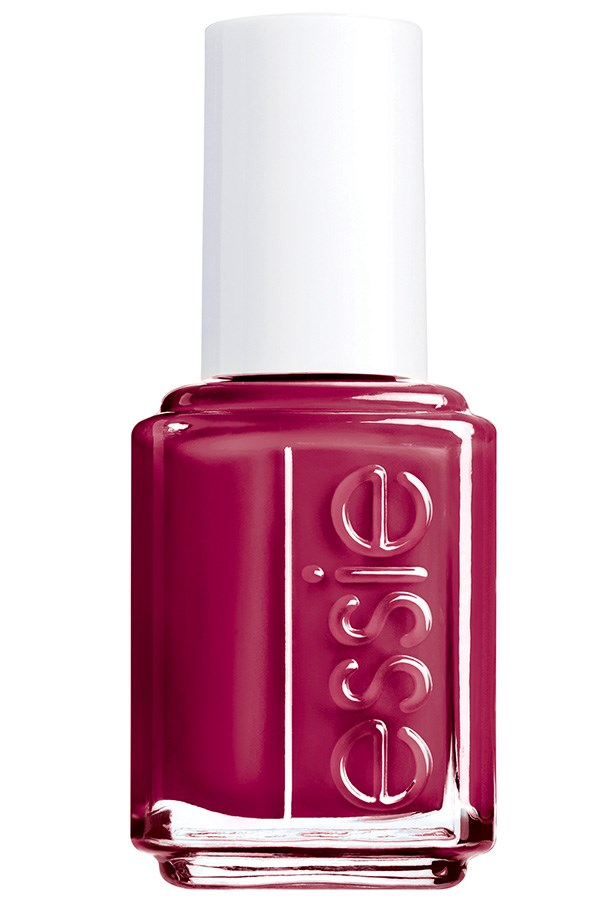 """<p><strong>Alyx Gorman, features director</strong></p> <p>""""It looks austere and a little dangerous.""""</p> <p><em>Nail polish in Fishnet Stockings, $16.95, Essie, 1300 369 327</em></p>"""