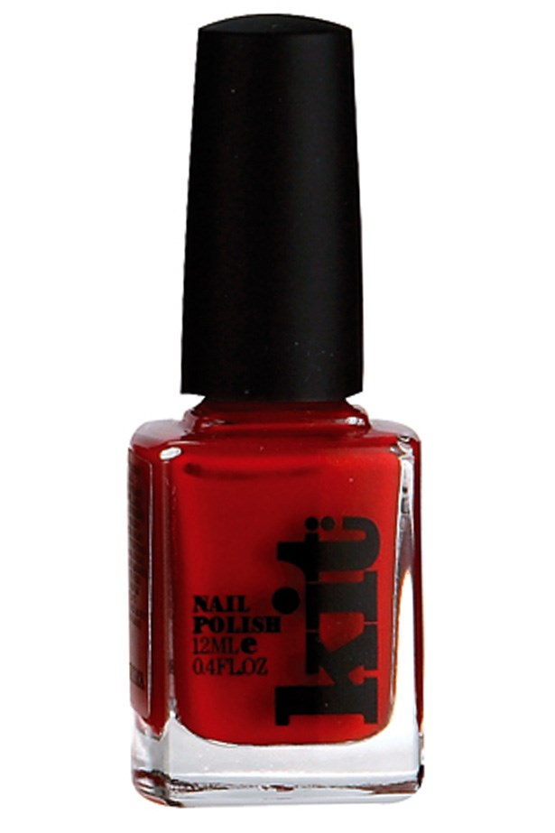 """<p><strong>Sarah Birnbauer, associate art director</strong></p> <p>""""It's the equivalent of a grey marl T-shirt for my toes – it goes with everything.""""</p> <p><em>Nail polish in Fast Track, $15.95, Kit, <a href=""""http://www.kitcosmetics.com.au"""">kitcosmetics.com.au</a></em></p>"""