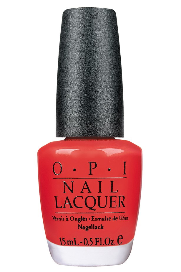 """<p><strong>Amy Starr, beauty and lifestyle associate</strong></p> <p>""""I've worn this for years and years – it's a vibrant, attention-grabby type bright red that just makes me happy when I look at it.""""</p> <p><em>Nail Lacquer in Cajun Shrimp, $19.95, OPI, <a href=""""http://www.opi.net.au"""">opi.net.au</a></em></p>"""