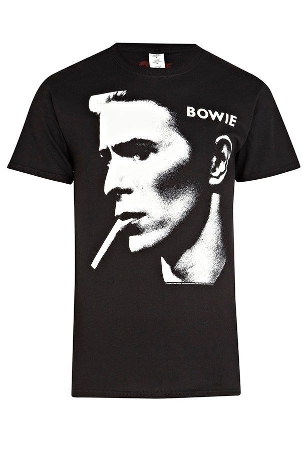 """Bowie T-shirt, approx $31.20, River Island, <a href=""""http://www.au.riverisland.com"""">au.riverisland.com</a>"""