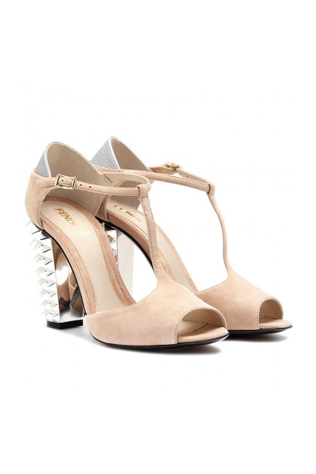 """Studded heels, $1090.50, Fendi,<a href=""""http://www. mytheresa.com""""> mytheresa.com</a>"""