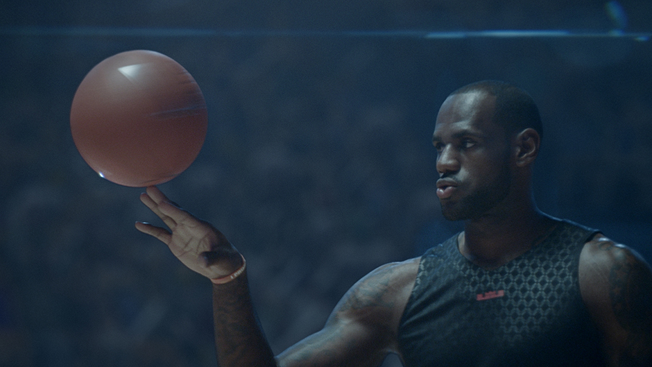 Nike's new campaign featuring LeBron James