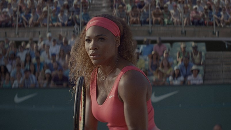 Nike's new campaign featuring Serena Williams