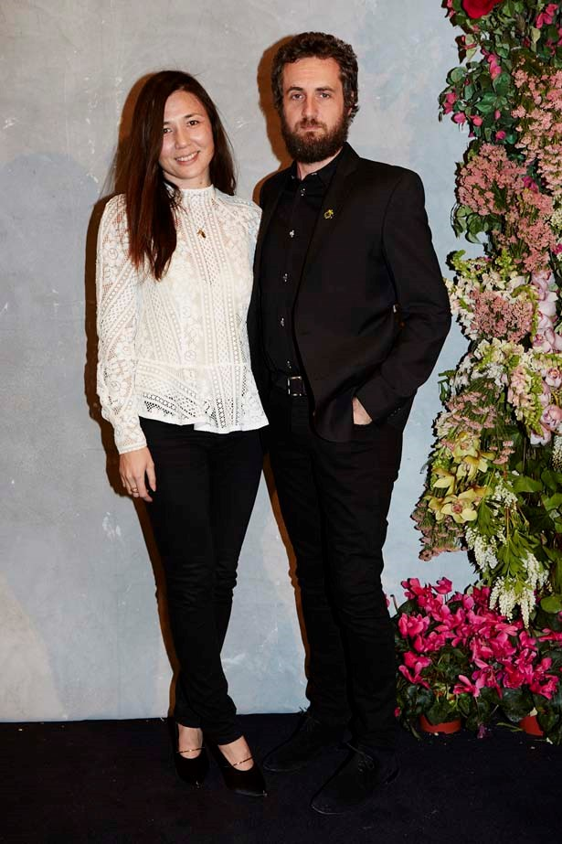 Lover designers Susien Chong and Nic Briand