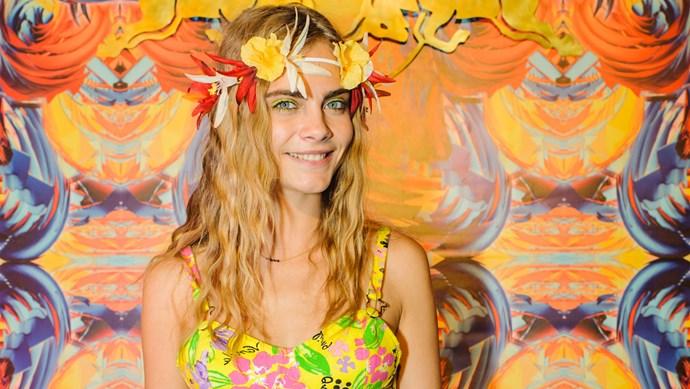 Cara Delevingne at Notting Hill Carnival
