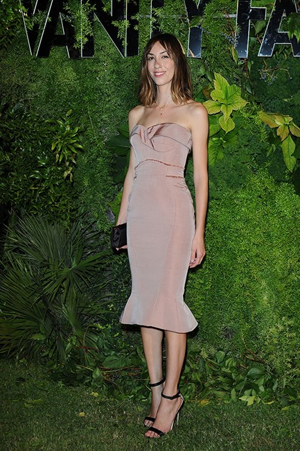 Gia Coppola attends a Vanity Fair event during the 70th Venice Film Festival were her first film Paolo Alto will be screened.