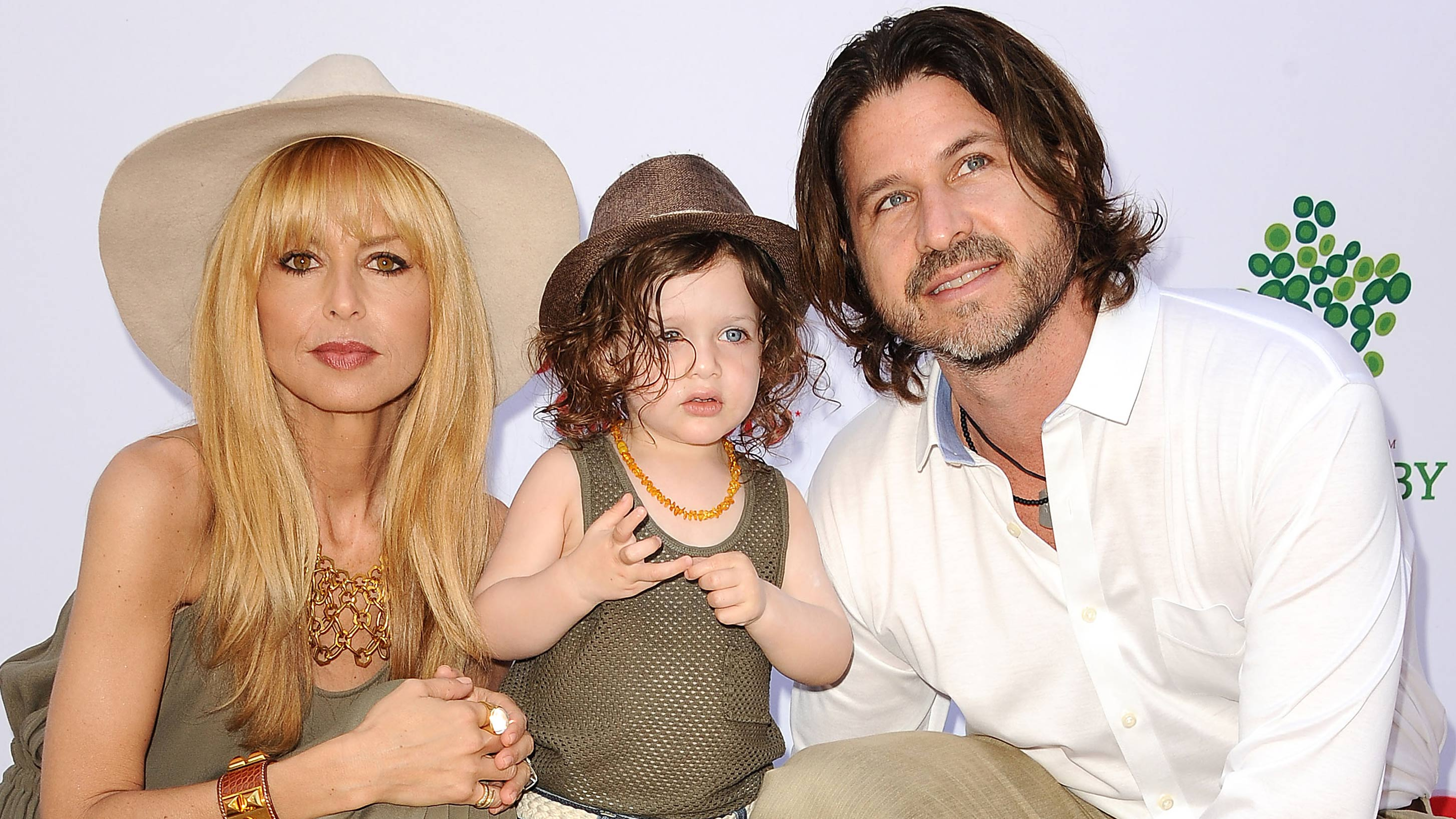 Rachel Zoe with husband Rodger Berman and son Skyler