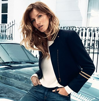 Gisele Bundchen in HM's Autumn Winter campaign