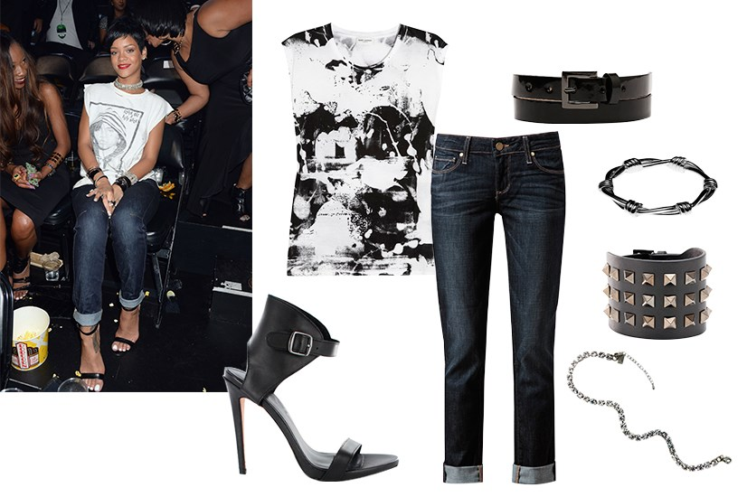 Instant style: Rihanna