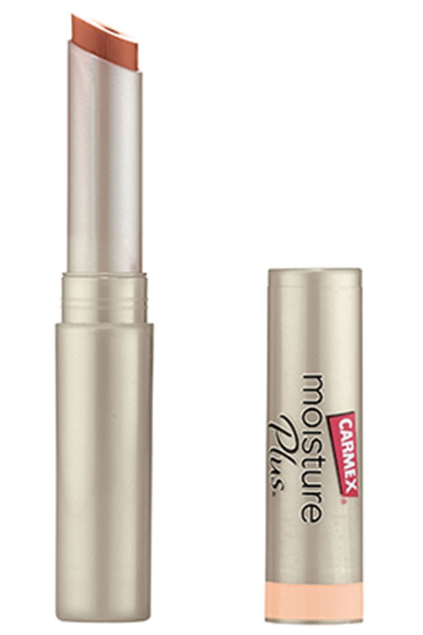 WITH A BIT OF COLOUR: Moisture Plus Ultra Hydrating Lip Balm Peach Sheer Tint, $8.99, Carmex, 07 5470 2708 It offers a hint of tint, without sacrificing the moisture.