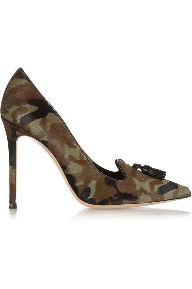 """Heels, Approx $823, Gianvito Rossi, <a href=""""http://net-a-porter.com"""">net-a-porter.com</a>"""