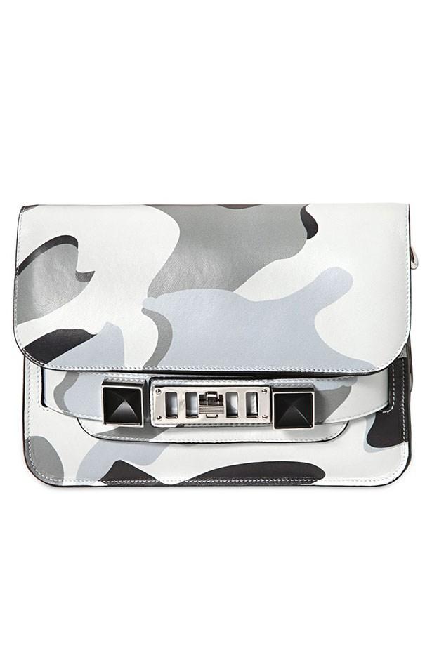 """Bag, Approx $2366, Proenza Schouler, <a href=""""http://luisaviaroma.com"""">luisaviaroma.com</a>"""
