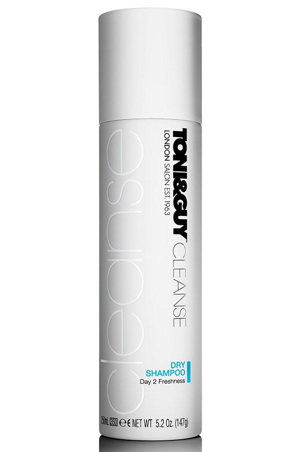 Prep Dry Shampoo, $15.99, Toni & Guy Hair Meets Wardrobe, 1800 061 027