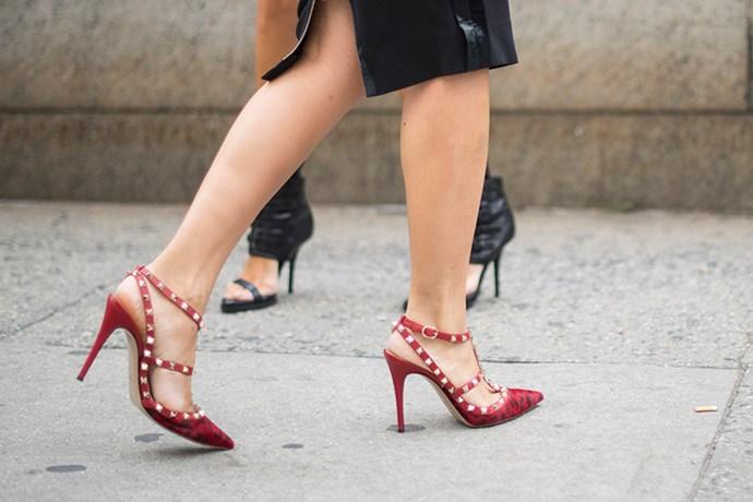 Studded Valentino heels