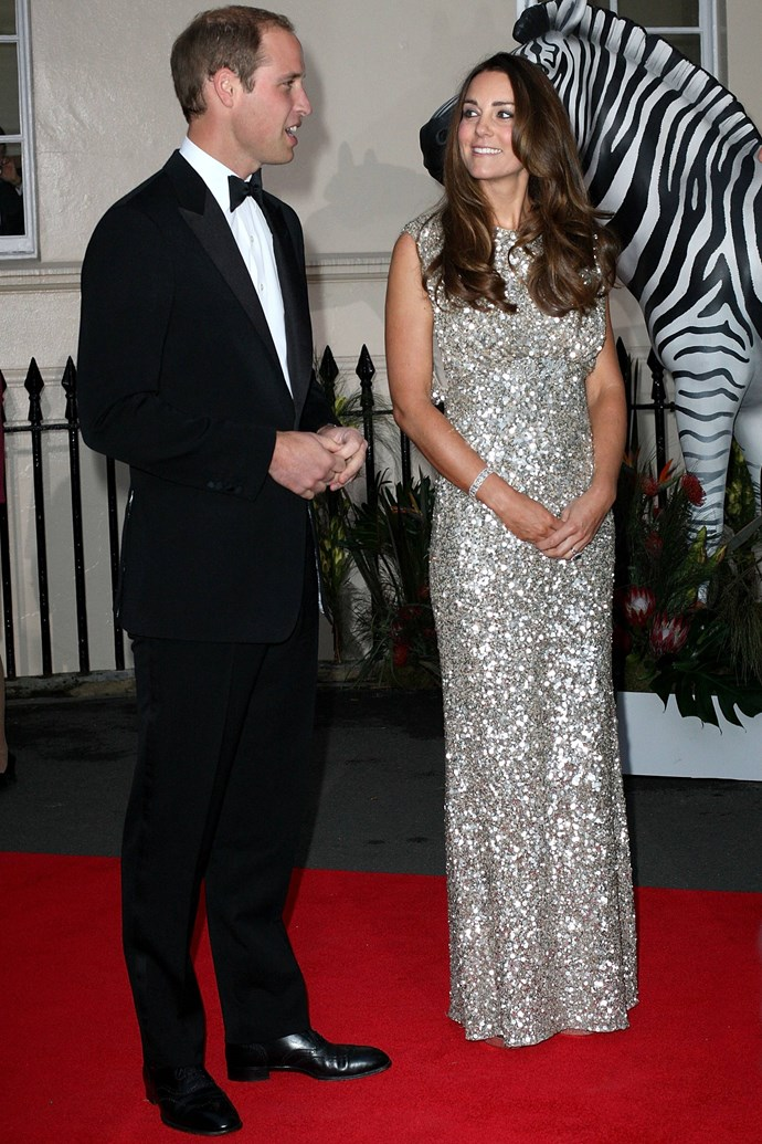 The Duke and Duchess appeared at a charity event in London