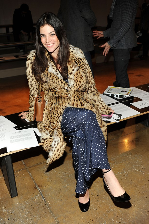 Leopard and spots – an oh-so-wrong-it's-right combination.